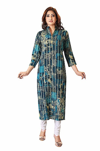 A&J Embroidered Kurti For Women Best party wear Crafted from A&J latest style new design Kurtis for Girls/Women It is light in weight and will be soft against your skin. Its unique design and beautiful color will fetch a lot of second glances as you club it with contrast colored pumps and flashy accessory Yet from day to night with ease wearing a dress. Tailored in a regular fit, this kurta for women will keep you comfortable all day long. A pretty kurta to wear at parties, functions or just casually which is stylish & comfortable to wear or maybe you are looking for a decent gift for your mother, sister or loved ones. You need - a readymade kurta made of excellent fabric with durable stitching to make it last longer. You get - everything you want, need and desire with New Ethnic Fashion party wear kurta. We believe in better clothing products cause helping women's to look pretty, to make women's feel comfortable is our ultimate goal.  BUY NOW- https://amzn.to/2HiUK8T