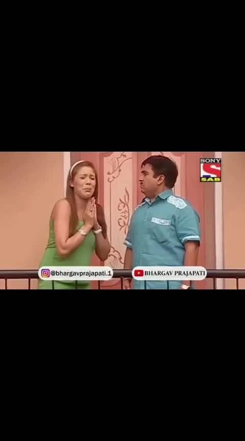 Jhethalaal 😍#ladki patane bole sallu ban jaunga #babita