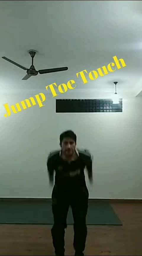 Jump Toe Touch #thursdaythoughts #thursday #thursdaythoughts #motivation #fitness #fit #fitnessaddict #fitnessblogger #fitnessmotivation #fitnessgoals #workout #workoutmotivation #homeworkouts #homeworkout #youtuber #new-youtube #youtubecreatorindia #youtubecreatorindia #thursdays
