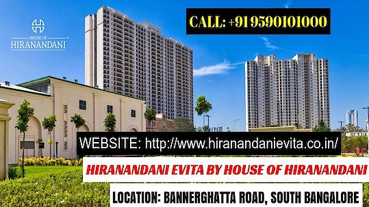 #HiranandaniEvita #BannerghattaRoad |www.hiranandanievita.co.in #HouseOfHiranandani #HouseOfHiranandaniBangalore #HiranandaniBangalore #Bannerghatta #South #Bangalore #Location #KeyDistances #SurroundingDevelopments #RealEstate #ApartmentsForSale #LuxuryApartmentsForSale #LocationMap #MasterPlan #FloorPlan #2BHK #2.5BHK #3BHK #Price Rs. 76 Lakhs #Amenities #Interior #Exterior #Specifications #Gallery #Video #Contact +91 9590101000 #NewLaunch #Ongoing #UnderConstruction #PreLaunch #ApartmentsInBangalore #ApartmentsInBannerghattaRoad