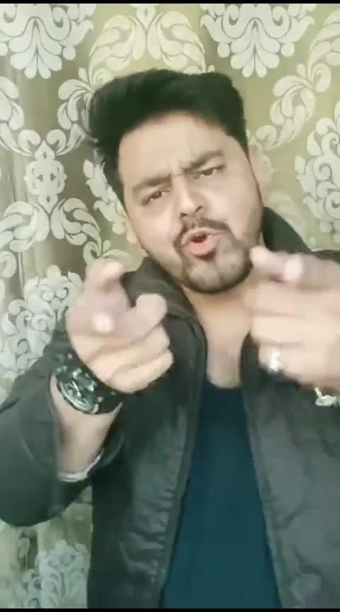 Badshah 🔥🔥 #badshahofbollywood #rapsong #rops-star #badshah #callformarathi #roposo #trendeing