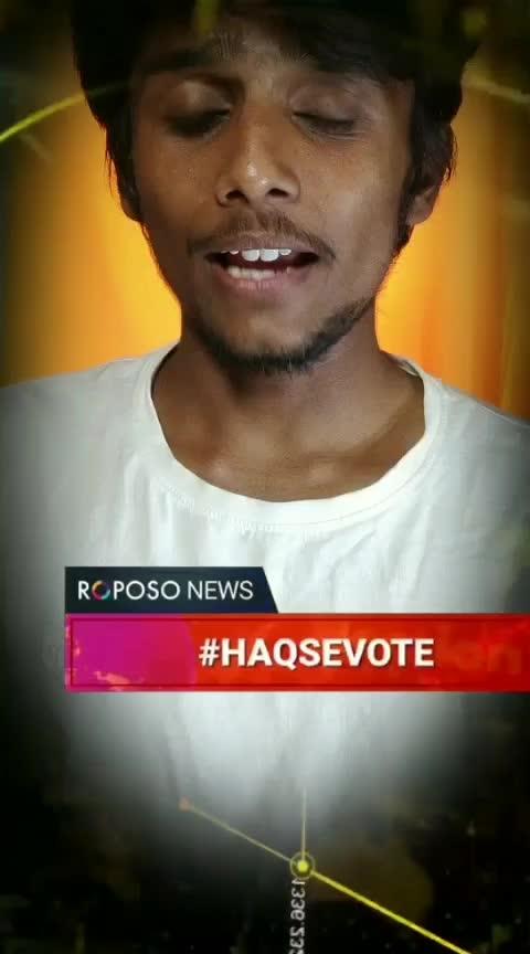 #HAQSEVOTE