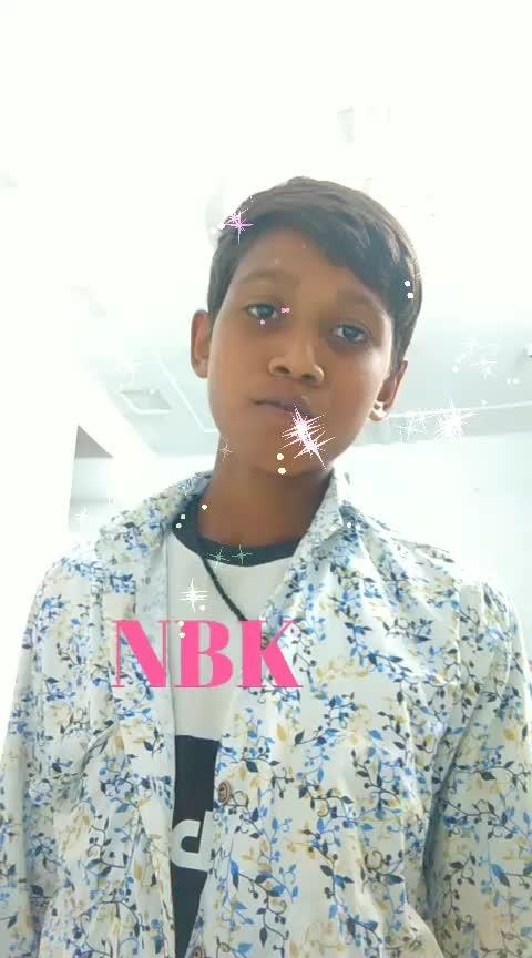 #roposostar #NBK dailoge #nenu digithe...........