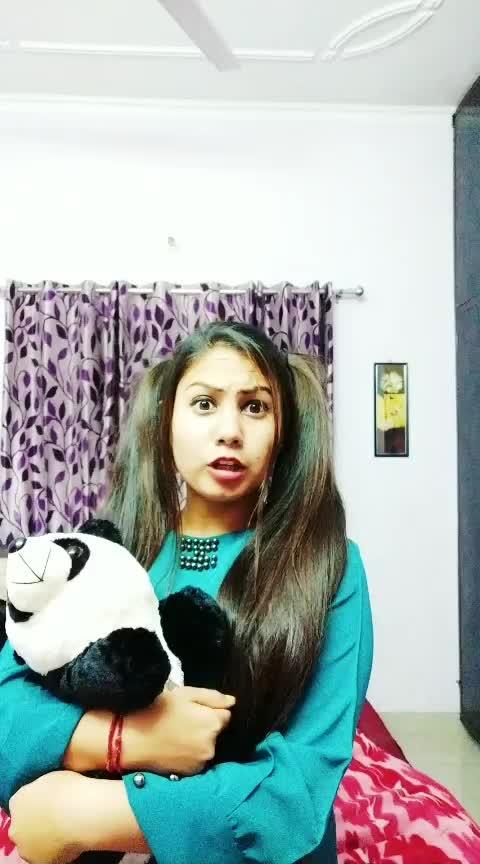 koi english mein gali dede to wo to rock h😂😂 #watch_this_video #panda 🐼 #natural_hairs #loveness