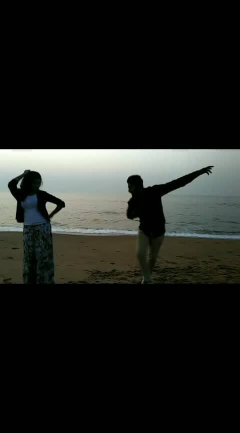 #roposo #roposostar #telugugirls #telugu #love #couple #romantic #earlymornings #beach