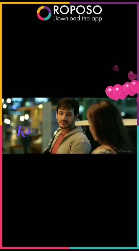 #akhilakkineni #love #emotional