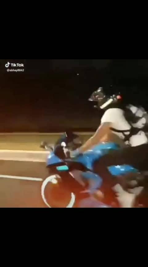 #makhna #rider #nightout #stunt #ridingthebeast