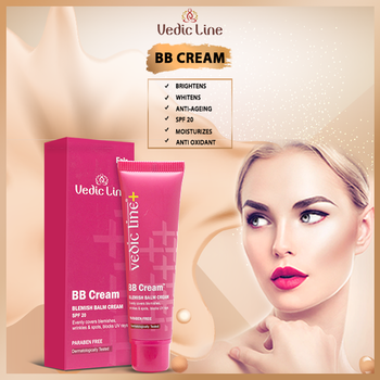 "Do you Want to streamline your beauty routine with the latest buzz in the beauty industry?? BB Cream is a ""must-have"" product class because it combines the benefits of #SkinCare and make-up to deliver all your #BeautyEssentials in one product. . . . Buy now at :👇👇  http://www.vedicline.com/product/1358/bb-cream-(fair-colour)  Vedicline's BB Cream with natural extracts covers #Blemishes, #Wrinkles and #DarkSpots properly. Protects from the harmful rays of the sun, works like a primer or foundation and nourishes the skin at the same time. Gives even and fair skin tone.  #Vedicline #BBCreame #BlemishBalmCream #NaturalProduct #SkinMaster #AyurvedicProducts #CosmeticProducts #BeautyProducts #NaturalIngredients #UVRaysProtection #UVProtection #NaturalCare #NaturalAyurveda #AyurvedicTreatment #SkincareRegime #EssentialAyurveda #GlowingSkin"
