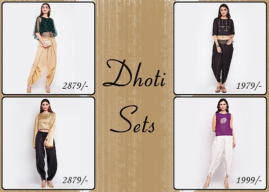Dhoti sets!  https://bit.ly/2FdxZkv  #9rasa #colors #studiorasa #ethnicwear #ethniclook #fusionfashion #online #fashion #like #comment #share #followus #like4like #likeforcomment #like4comment #newarrivals #ss19collection #ss19 #outfit #lehengaset #lehenga #dhotiset #dhoti #set