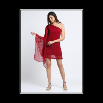 """The dress must follow the body of a woman, not the body following the shape of the dress."" —Hubert de Givenchy . . . . #trendarrest #trendyoutfits #partywear #dress #oneshoulder #fashionista #fashionworld #fashionnova #maroon #colour #shades #fashionmodels #westernwear #instalikes #instafollows #followforfollow #likeforlikes #instamodels #clothingbrand #fridayvibes #tgif #postoftheday"