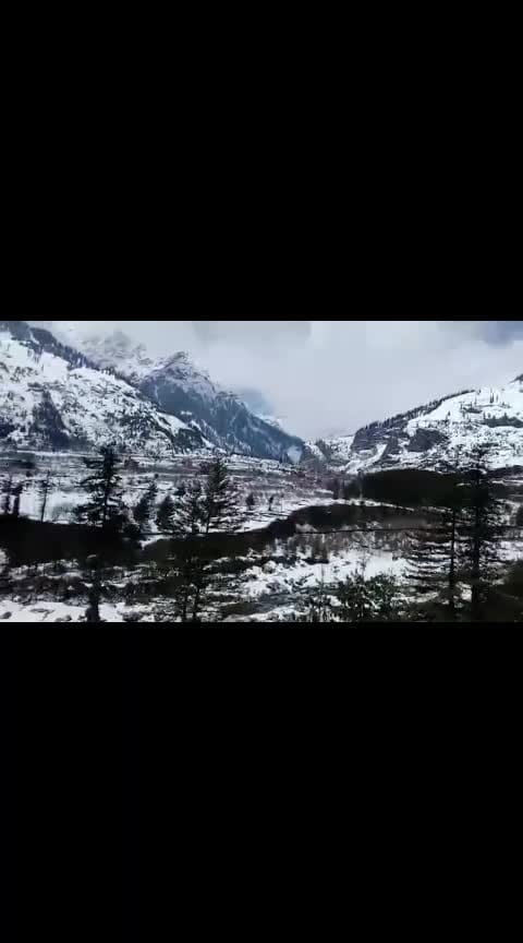 #manali #chilly #climate