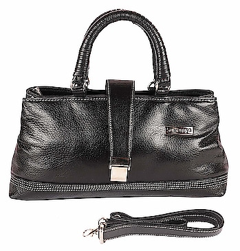 SUMANNYA Genuine Leather Executive Ladies Handbag (Black) Material: GENUINE Leather A trendy addition to your accessory collection this season comes in the form of this Ladies bag best worn with casual or semi-casual outfits, this leather Ladies bag is long-lasting and easy to maintain too. It comes with an attractive box that is ideal for birthday and anniversary gift to your love one. A premium genuine leather textured product from the house of Sumannya. Best Worn With Casual, Formal Or Semi-Formal Occasion  for purchasing click on this link:- https://www.amazon.in/dp/B07K7DHCRD?ref=myi_title_dp  #purse #bag #ladiesbag