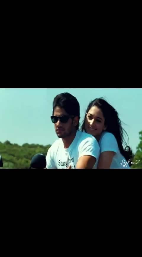 #100%love #nagachaitanya #thamanna #romanticstatus #whatsappvideos 😄😄😄