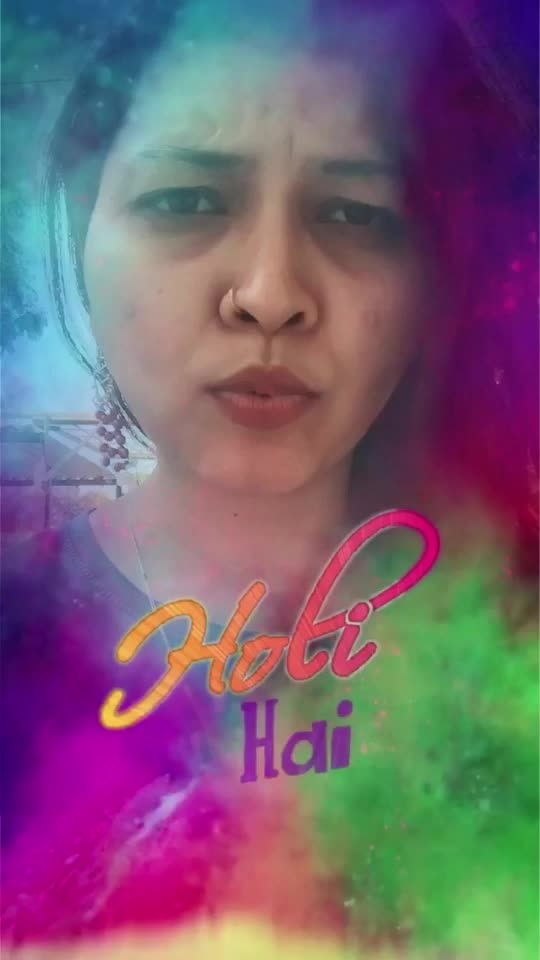 Who else is excited for holi?😍 #holi2019 #roposo #roposorisingstar #risingstar #holiwithroposolove #holifilter