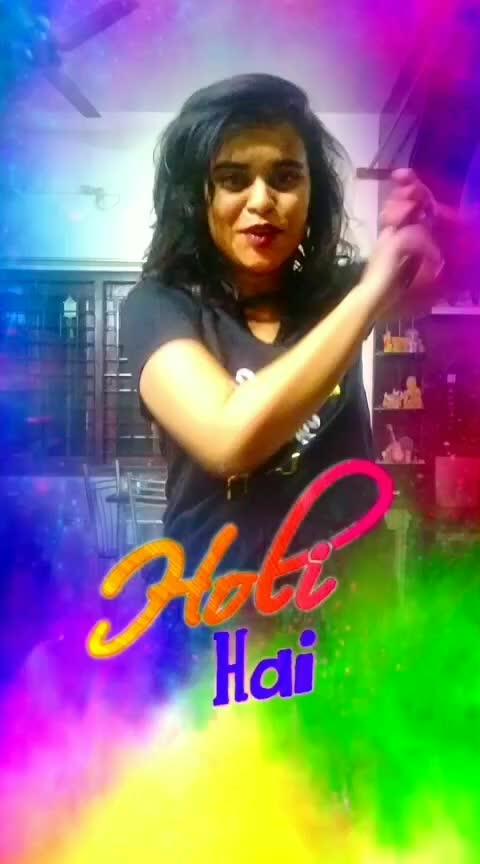 happy holi😍😍 #holifun #holi #colourlovers #roposo_channel