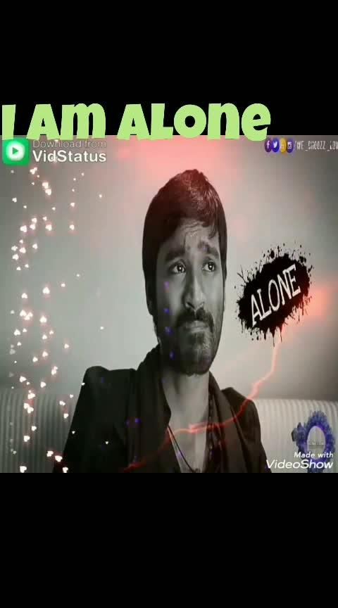 #dhanush #anirudh #3song #3moviesong #3movie #love #iamalone #alone #lovesad