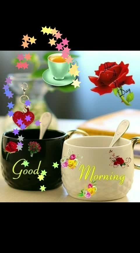 Good morning & happy weekend! #saturday #goodmorning-roposo #goodmorning #dailywisheschannel #dailywishes #weekend #haveaniceday #roposodailywishes