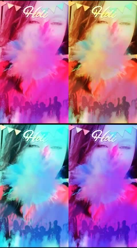 Happy Holi 2019😻 #happyholi2019 #celebration #roposocelebrations #risingstar #roposorisingstar #roposostar #roposochannel #featurethisvideo #coinscollection #roposo-style #roposofilters #roposoqueen