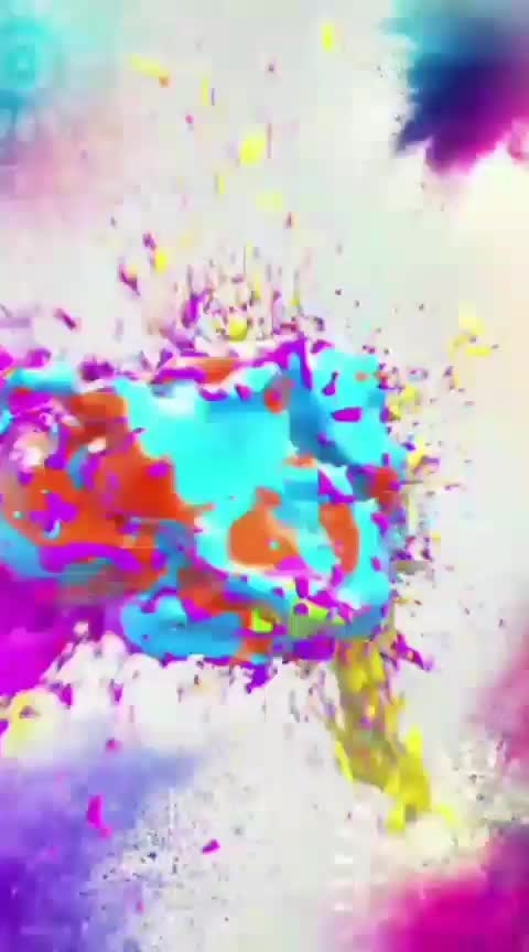 #holifun #holographic #holy my video#aaye-ho-meri-zingagi-me-tum-bahar-banke