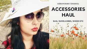 HAUL | Fashion accessory | Catwalk | Ray Ban | Hidesign | SonaMeraki   I recently indulged myself in some Fashion Accessory shopping and I am sharing them with you all in the latest  video on my channel. (Link in bio👍) This haul includes Rayban Sunglasses, Catwalk shoes and Hidesign Bag! Hope you would like this video!💕 . . . . #accessories #fashion #haul  #fashionhaul #rayban #catwalk #hidesign #shoes #bag #sunglasses #shoppinghaul #fashion #beauty  #shopping #instalike #like #comment #instapic  #trending #influencer #contentcreator #youtuber #sonammahapatra #sonameraki