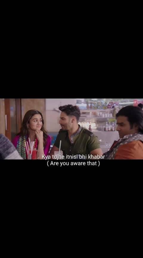 Subtitles with English meaning #humsafar #varundhawan #aliabhatt #badrinathkidulhaniya