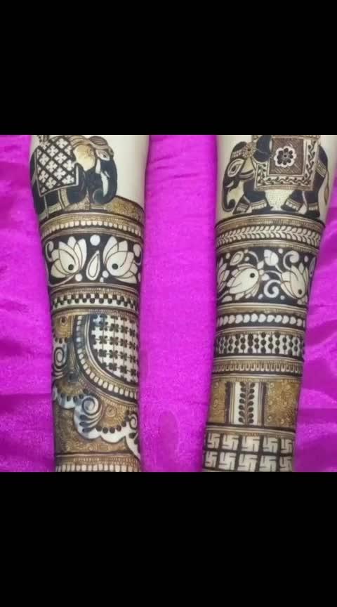 bride mehndi for wedding #mehandidesignofdday