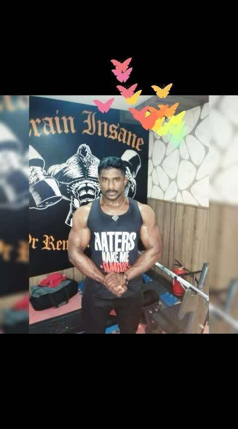 #gym #trainer #nevergiveup ##talented #bodybuilder #rajaram  #wife-husband #life