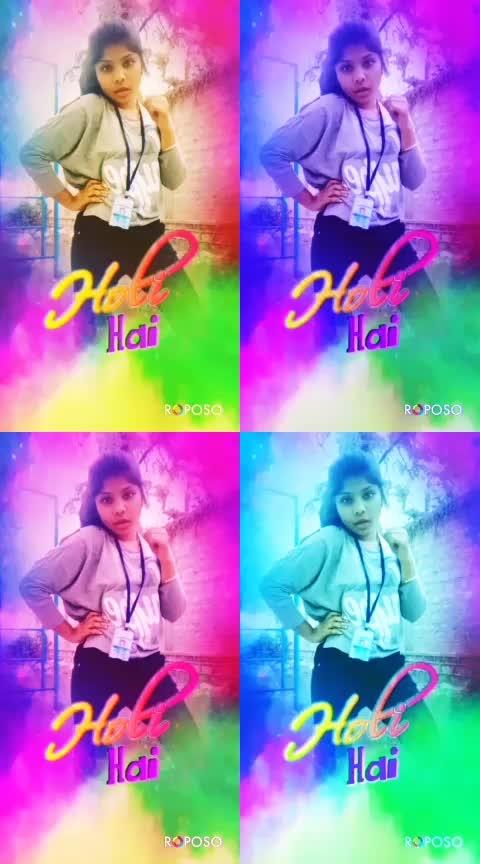 #badrikidulhania #holifun #holi  #risingstar