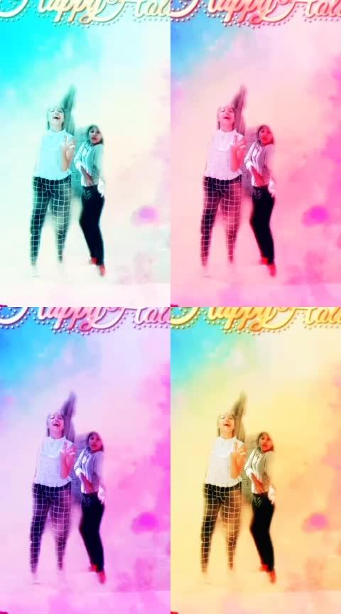 #holi2k19 #balampichkari #rangde  #risingstar #roposo-lov #dancelife