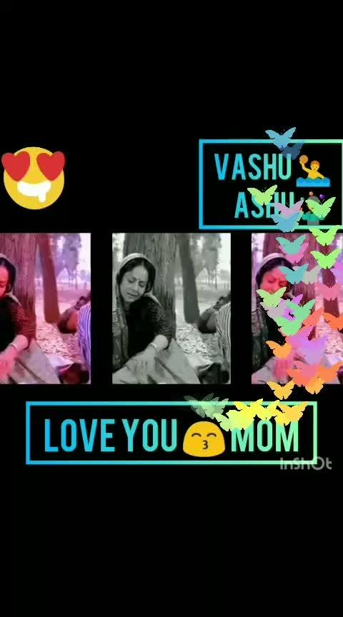 #i-love-u-mom #vashu #ashu