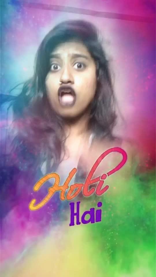 HAPPY HOLI 💥 #holifilter #roposoholi #roposoholifilter #risingstar #roposostar #roposohindi #holi #happyholi