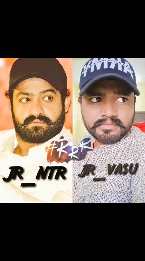 #rrr-rajamouli @jrntr123 fan Vasu 💪#ram_charan 🤘👍👍✌✌😎💪❤❤😍😍😍💪💪