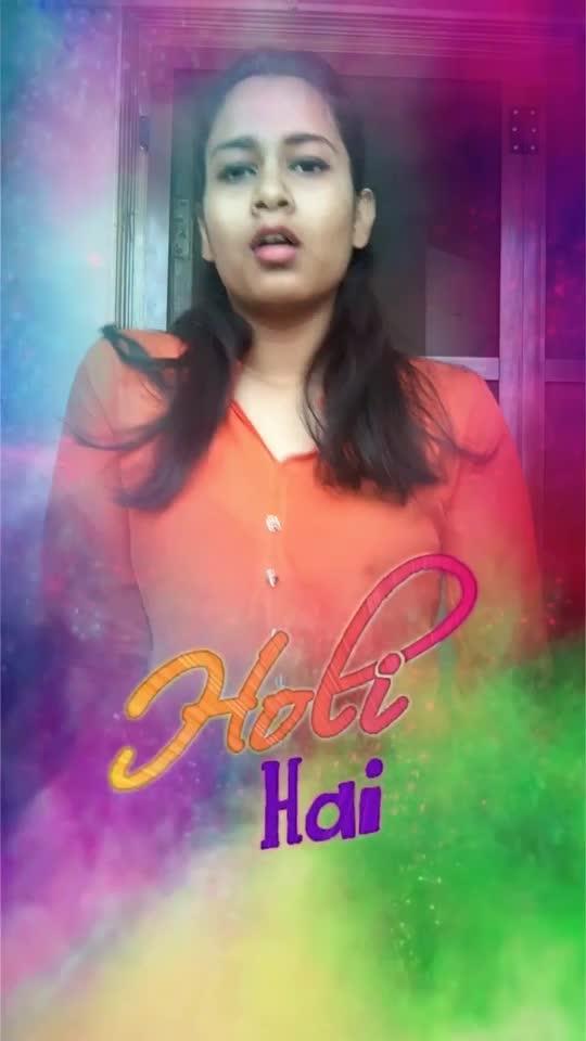 Just a step #holi2k19 #holihai #sahithidasari