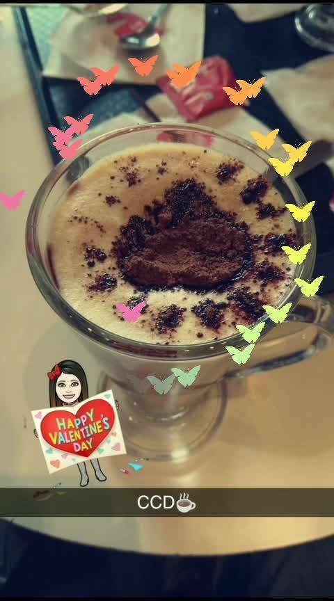 #hotcoffee #love❣️ #valentine's #happy♥️