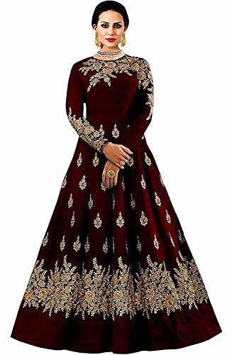 Queen of India Women Taffeta #silk #dress @ Rs.866. Buy Now at http://bit.ly/2T8vofr