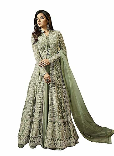 Monika Silk Mill Womne Net Embroidered #Partywear #Anarkali #Salwar #Suits @ Rs.2329. Buy Now at http://bit.ly/2F8KGvy