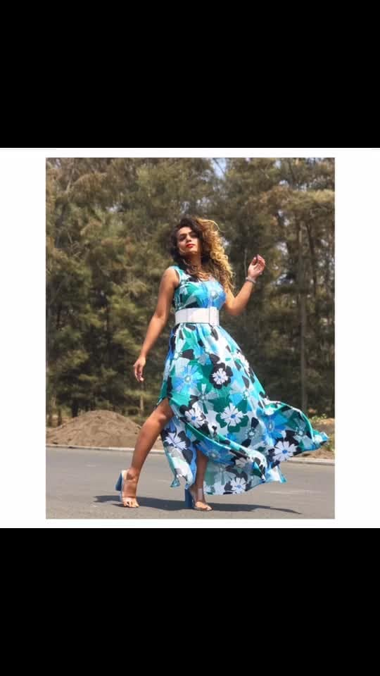 Go Floral this Summer 🦋  Shop this beautiful dress from Ajio only @550/- #ajio #ajiolife  Outfit @ajiolife