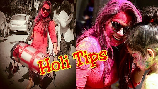 How to Play Safe Holi | Holi Tips for Skin & Hair | Naziablogs