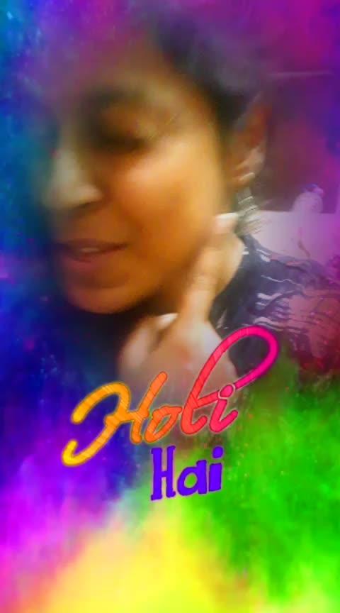 Holi Hai!!! #roposo #roposofilters #holi #40