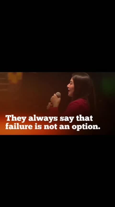 failur is not an option✌❤ #shivufam #gujjukesang