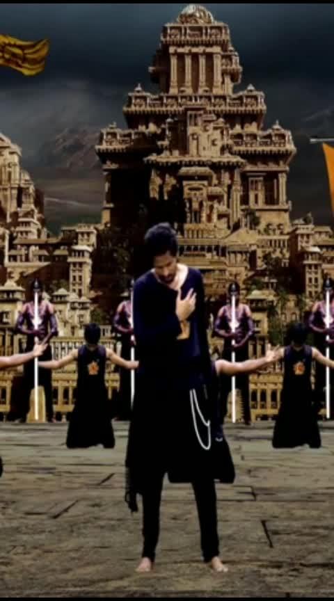 #prabhas #baahubali #baahubali2 #dandalayya #anushkashetty #tamannaahbhatia #prabhas_fans #prabhasfan #saaho #ssrajamouli #mmkeeravani #roop #roposodance #vfxindia #vfxdance #jaijaikara    #roopdance #roopcreations #roopkumarpakam