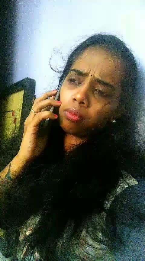 that sudden surprise call! #roposo #roposostars #dramebaaz #badgeme #featureme #actingwar #acting #passion #roposoeffects #sillunuorukadhal #suriya #jothika #bhoomika
