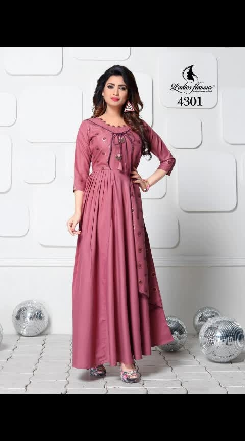 *#UPCOMING STOCK IN HIT KURTIS FROM THE BRAND*   👗 *#Ladies Flavour*👗  Brand Name : *#Ladies Flavour*  Catalog : *#Miss World Vol 2*  Design : *8*  Fabric : *Maya slub with Foil print*  Size : *M(38), L(40), XL(42), 2XL(44),3XL(46)*   *SINGLE PIECE RATE* :- *₹ 1050  + SHIPPING*  Dispatch: *1 APRIL 2019*  _Please communicate Dispatch date to your customers before taking orders_  NOTE- Tracking details will be shared next day after dispatch date