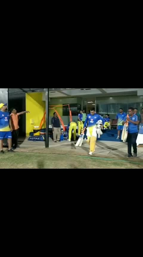 #thala #dhoni #msd #csk #returns #ipl #yellowlove #crowd #sounds #love #whistlepodu