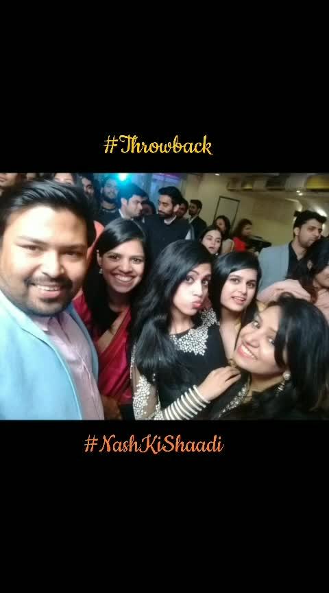 #Throwback #NashKiShaadi 😀 #iMissWeddingDressUp 😮