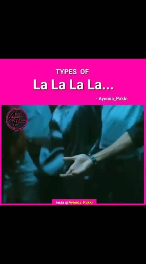 Types of lalalala