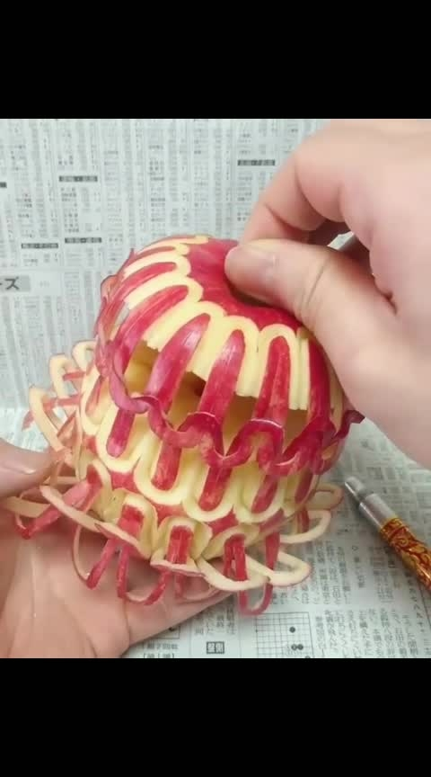 #Next-level-food-carving-on-fruits-and-vegtables