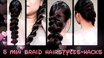 #hairstyle #hairstyles #youtube #indianyoutuber #indianhair #hair #youtuber #braid #ropebraid #heartbraid #hairstylediaries Everyday Easy Braiding Hairstyles For Medium And Long Hair//Quick Back to school hairstyles