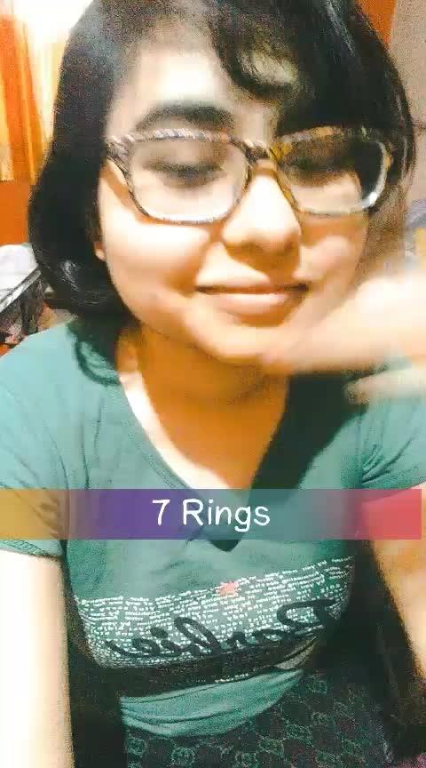 7 rings #arianagrande #7rings #song #cover #bollywood #featureme #love #music #hollywood #vevo #beats #roposostar #joyoners #joyocian