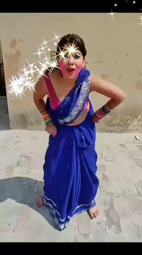 #happy-holi-in-adwance #bhojpuri_hot_dance #roposo-ha-ha-ha-babana-plzz-follow-me